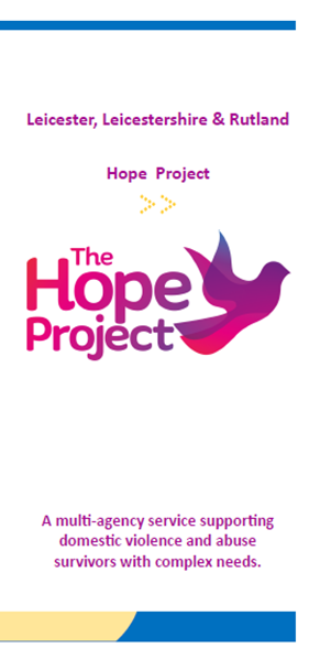 Hope Project leaflet front cover